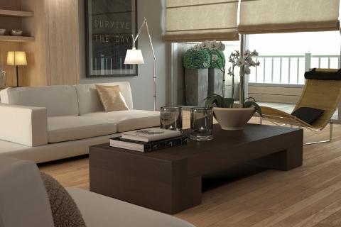 Elegant beige interior